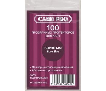 Протекторы для карт Card-Pro 59 *90 мм