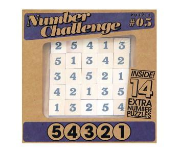Настольная игра Головоломка Цифры 5 4 3 2 1