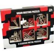 Настольная игра Набор из 6 головоломок из металла Зарядка для мозга