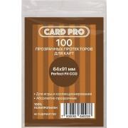 Протекторы для карт Card-Pro 64*91 мм
