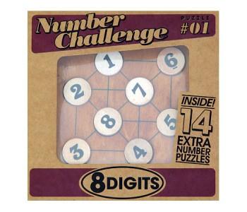 Настольная игра Головоломка 8 цифр